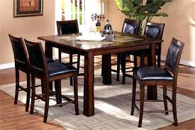 black dining table and hutch tall dining room set beautyconcierge me