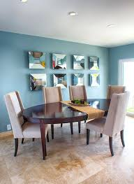 Modern Table Runners Mirror Art Ideas Dining Room Transitional With Table Runner Modern