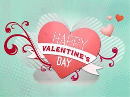 happy valentine u0027s day heart template valentines day powerpoints