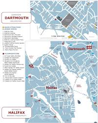 Trans America Trail Map by Halifax And Dartmouth Tourist Map