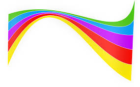 rainbow ribbon clipart clipartxtras