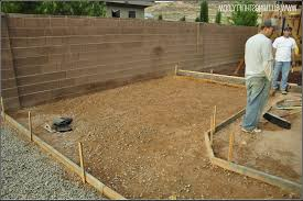 pour concrete patio in sections patios home decorating ideas