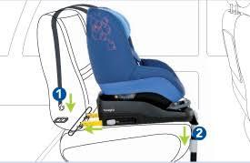 fixer siege auto siège enfant indispensable pour leur sécurité