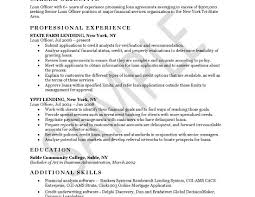 Resume Loan Officer Loan Officer Resume Example Resume For Loan Manager Resume