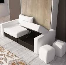 canapé escamotable meuble lit canapé escamotable chambre avec lit escamotable el bodegon