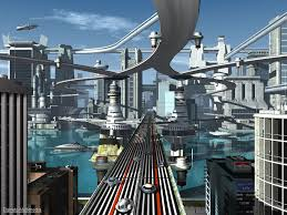 futuristic city without using any modern texture pack contests