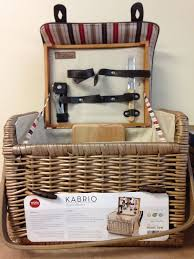 picnic basket for 2 return kabrio moka picnic basket for 2 by picnic time