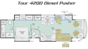 tour diesel pusher motorhome by winnebago rv