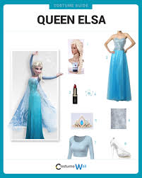 dress like queen elsa costume halloween and cosplay guides