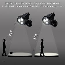 best led motion sensor light spotlight landscape lighting best of troad led motion sensor