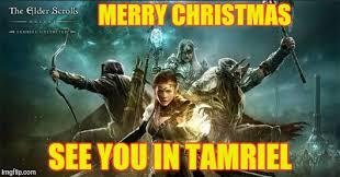 Elder Scrolls Memes - merry christmas elder scrolls memes imgflip