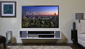 living room contemporary flat wall mounted tv stand for modern