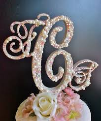 pearl monogram cake topper 121 best bakery weddings images on bakery