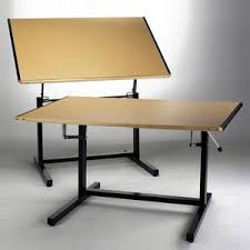 Wooden Drawing Desk Drafting Tables U0026 Desk For Architects And Artists