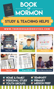 book of mormon study and teaching helps