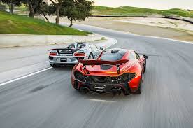 mclaren p1 porsche 918 spyder vs mclaren p1 rear photo laguna seca