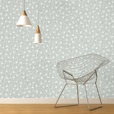 modele tapisserie chambre papier peint raphael 100 intissé motif graphique mat vert d eau