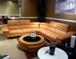 orange leather sectional sofa orange modern sectional sofa b68 leather sectionals