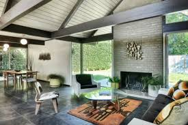 eichler style home five mid century eichler houses for sale in socal right now