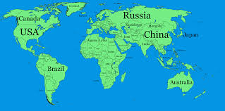 Naruto World Map by Image A Large Blank World Map With Oceans Marked In Blue Edited