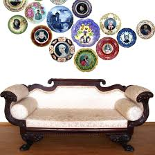 Dominus Bathroom Accessories by View Altered Antique Plates By Beatupcreations On Etsy