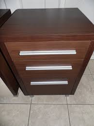 best bedside tables with glossy timber lm03 brown painting wooden