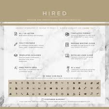 modern resume formats resume templates hired design studio modern resume template professional resume template quick view