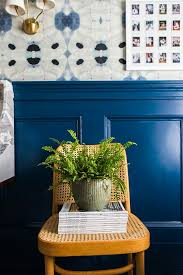 paint color is a bright yet rich shade of navy by behr marquee in