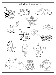 healthy food choices worksheet http www kidscanhavefun com about