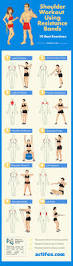 Chair Resistance Band Exercises Shoulder Workout Using Resistance Bands 10 Best Exercises