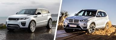 lexus nx300 vs bmw x4 range rover evoque vs bmw x3 comparison carwow