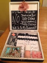 asking to be bridesmaid ideas will you be my bridesmaid box i made for all my wedding