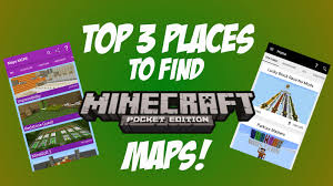 Mpce Maps Top 3 Apps For Mcpe Maps Mcpe 0 14 3 Youtube