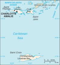 st islands map u s islands