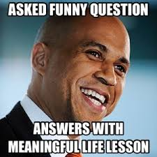Cory Booker Meme - i am cory booker mayor of newark new jersey and co founder of