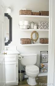 bathroom shelving ideas for small spaces 11 fantastic small bathroom organizing ideas a cultivated nest