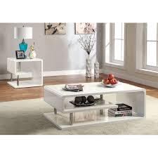 logan coffee table set wade logan luther coffee table set reviews wayfair ca