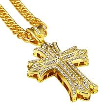 gold jewelry cross necklace images Gold chain for men hip hop jewelry cross necklace 30 jpg