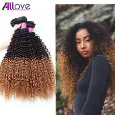 curly hair extensions allove afro curly hair weave peruvian ombre hair extensions