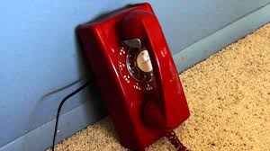 cortelco wall mount phone red wall phone ringing 10 16 10 youtube