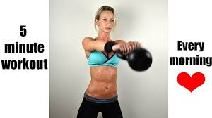 kettlebell swing for weight loss 5 minute daily workout that makes a difference