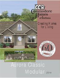 Modular Raised Ranch Floor Plans Commodore Homes Of Indiana Aurora Classic Modular Ranch By The