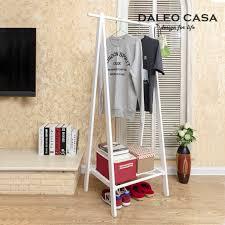 creative interior wood floor coat rack hanger ikea korean inside