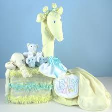 gentle giraffe diaper cake baby shower gift unique baby gifts
