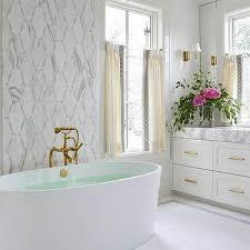 bathroom accent wall ideas mosaic marble tiled bathroom accent wall design ideas