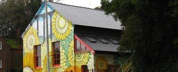 The Sunflower House  Up The Wall Murals