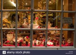 window of john bulls chocolate shop dressed for christmas in york