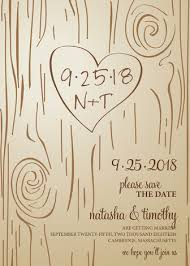 save the date in fall carving save the date cards by amanda minted