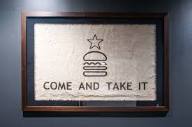 Come And Take It Flag Shake Shack Is Giving Away Free Shackburgers When You Download