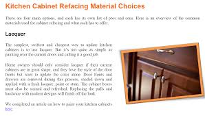 Kitchen Cabinet Refacing Materials Download Your Free Copy Of The Guide To Cabinet Refacing Nustone